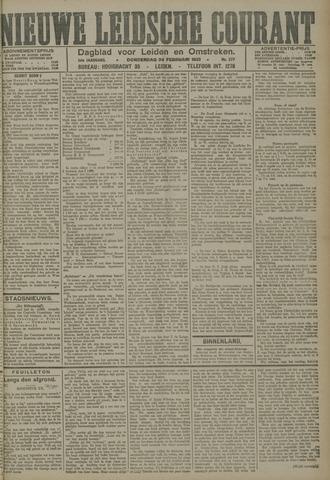 Nieuwe Leidsche Courant 1921-02-24