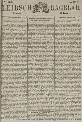 Leidsch Dagblad 1878-01-16
