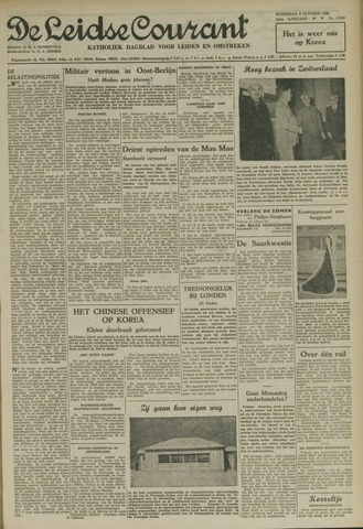 Leidse Courant 1952-10-08