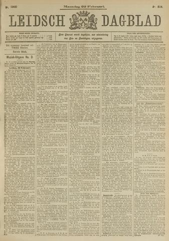 Leidsch Dagblad 1904-02-22