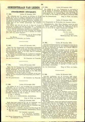 Handelingen van de Raad 1919-12-27
