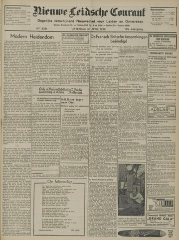 Nieuwe Leidsche Courant 1938-04-30
