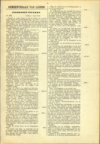 Handelingen van de Raad 1922-04-01