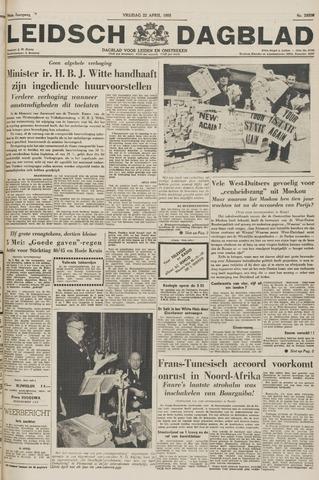 Leidsch Dagblad 1955-04-22