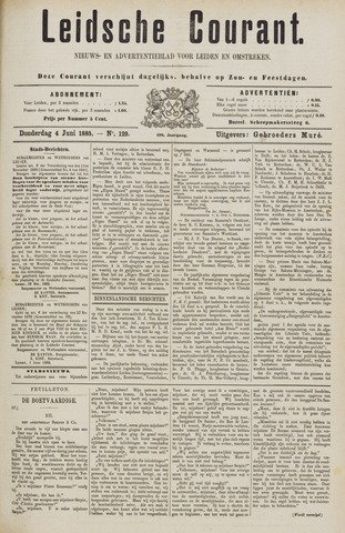 Leydse Courant 1885-06-04