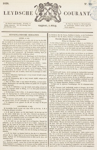 Leydse Courant 1850-07-05