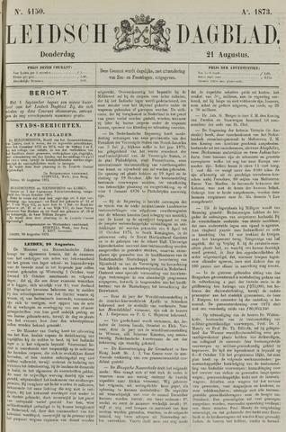 Leidsch Dagblad 1873-08-21