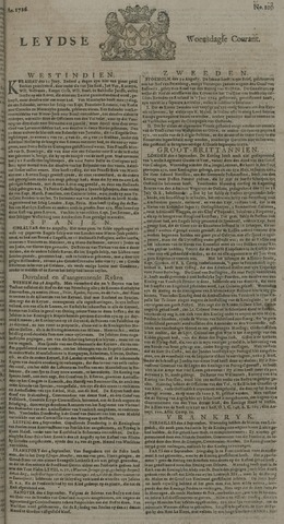 Leydse Courant 1726-09-11