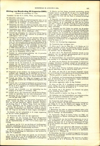 Handelingen van de Raad 1904-08-25