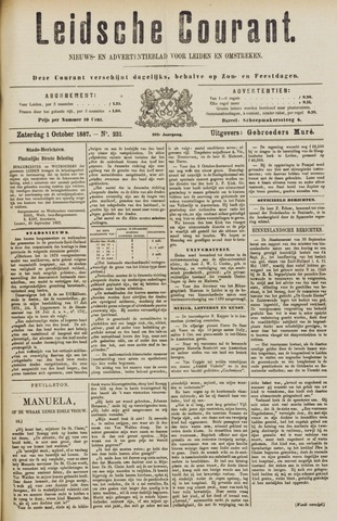 Leydse Courant 1887-10-01