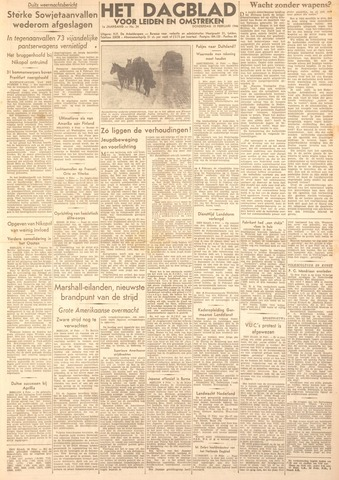 Dagblad voor Leiden en Omstreken 1944-02-10