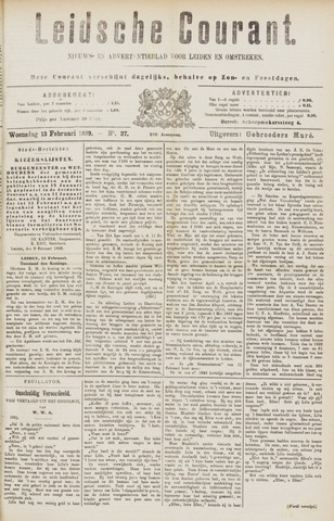 Leydse Courant 1889-02-13