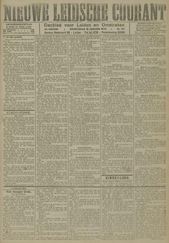 Nieuwe Leidsche Courant 1923-01-18
