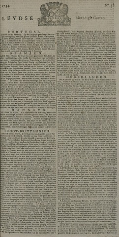 Leydse Courant 1734-03-29