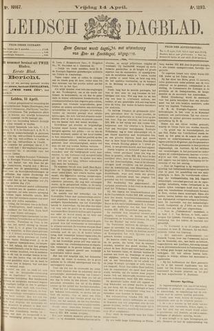 Leidsch Dagblad 1893-04-14