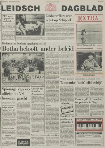 Leidsch Dagblad 1985-08-10