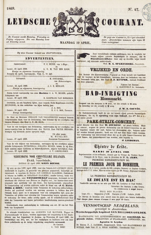Leydse Courant 1869-04-19