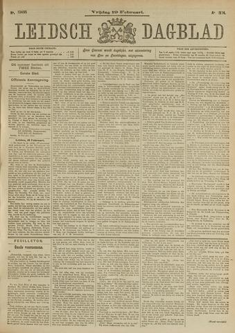 Leidsch Dagblad 1904-02-19
