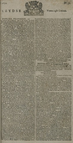 Leydse Courant 1734-03-10