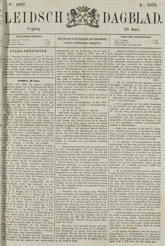 Leidsch Dagblad 1873-06-20