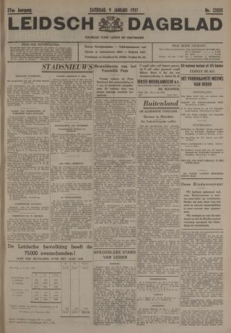 Leidsch Dagblad 1937-01-09
