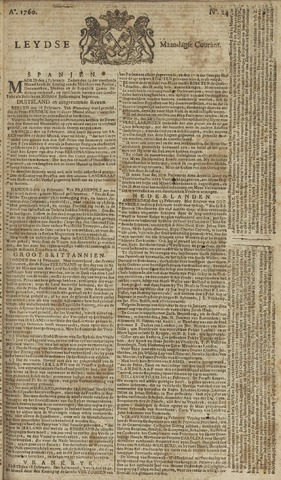 Leydse Courant 1760-02-25