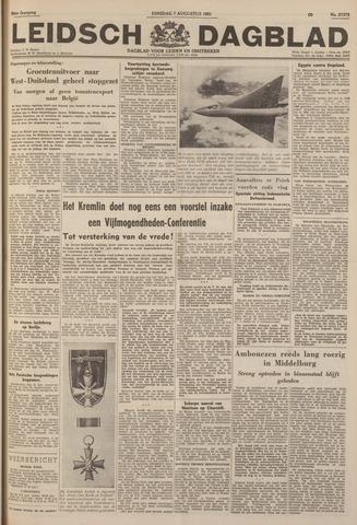 Leidsch Dagblad 1951-08-07