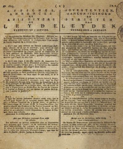 Leydse Courant 1813