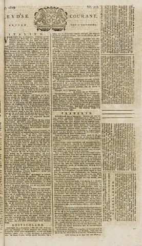 Leydse Courant 1819-09-17