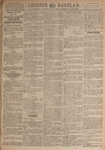 Leidsch Dagblad 1920-04-07