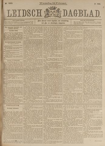 Leidsch Dagblad 1902-02-12