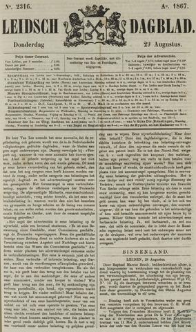 Leidsch Dagblad 1867-08-29