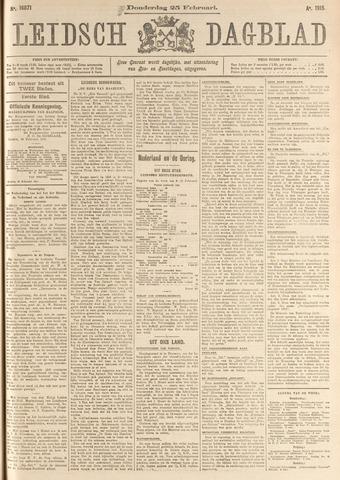 Leidsch Dagblad 1915-02-25