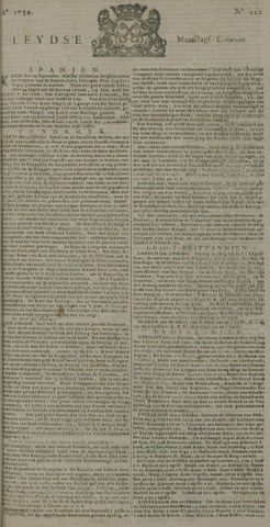 Leydse Courant 1734-10-11