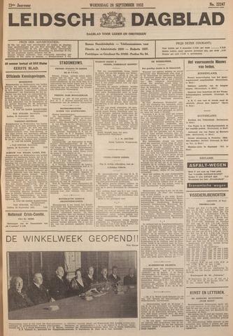 Leidsch Dagblad 1932-09-28