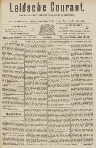 Leydse Courant 1887-11-26