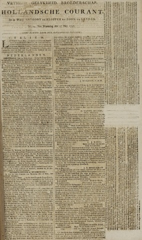Leydse Courant 1795-05-27