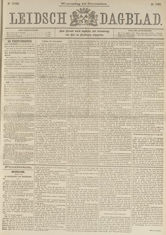 Leidsch Dagblad 1893-11-15
