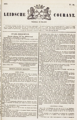Leydse Courant 1877-03-30