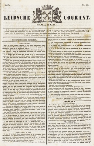 Leydse Courant 1871-03-21