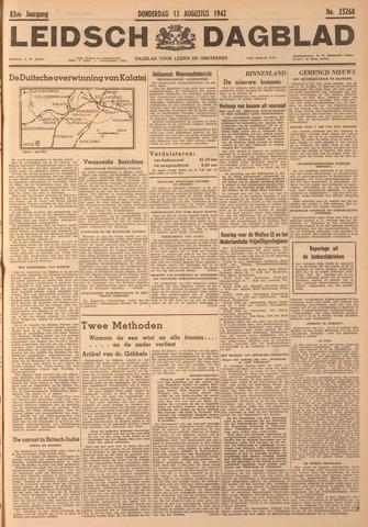 Leidsch Dagblad 1942-08-13