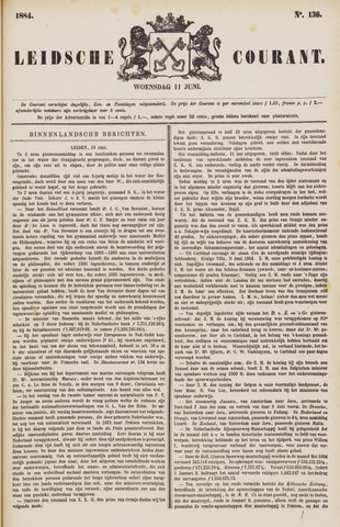 Leydse Courant 1884-06-11