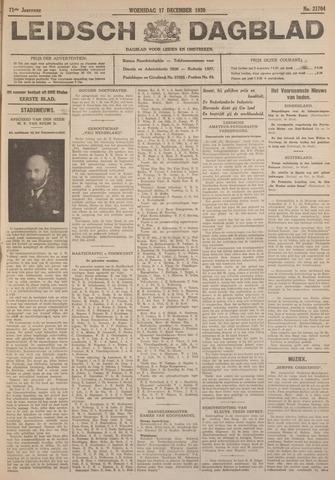 Leidsch Dagblad 1930-12-17