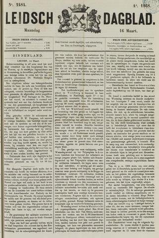 Leidsch Dagblad 1868-03-16