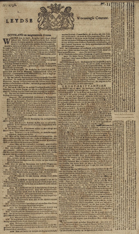 Leydse Courant 1758-05-03