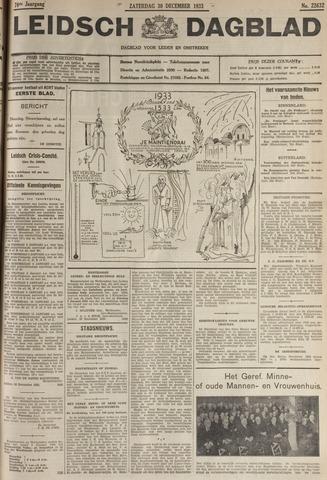 Leidsch Dagblad 1933-12-30