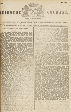 Leydse Courant 1883-10-26