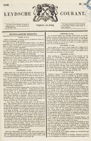 Leydse Courant 1846-06-19