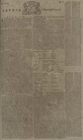 Leydse Courant 1743-07-08