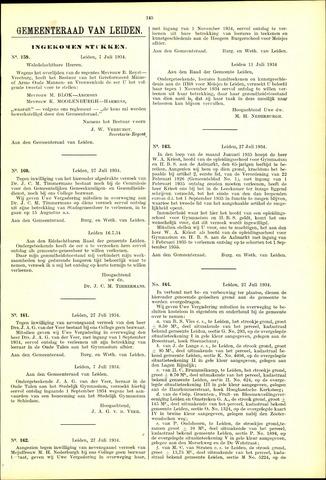 Handelingen van de Raad 1934-07-07